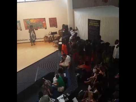Harlem School of the Arts:  Nasir's African Dance Performance