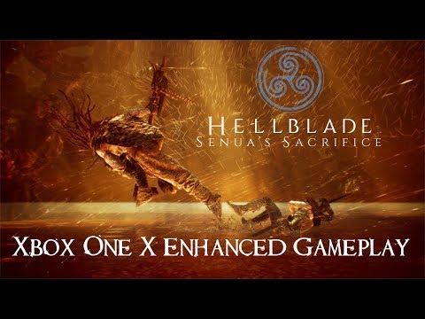 Hellblade: Senuas Sacrifice Xbox One X Gameplay (4K)