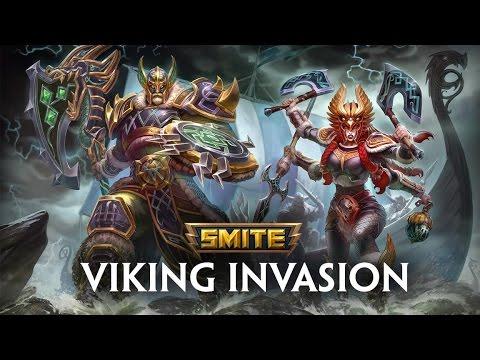 SMITE - Viking Invasion - Trailer