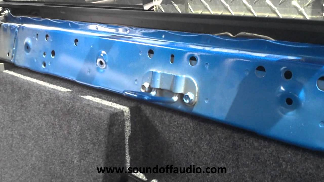 2005 2015 Toyota Tacoma Double Cab Subwoofer Box By Sound