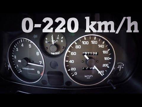 Mazda Mx5 Miata Turbo 0-200 km/h 0-100 0-60 mph acceleration sound gt2560r