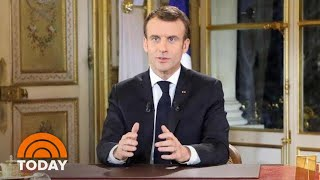 Emmanuel Macron, Theresa May Battle Growing Crises In Nations   TODAY