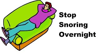 Stop Snoring Overnight with this Simple Snoring Solution.