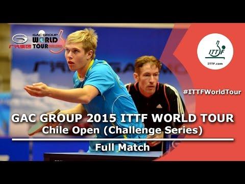 2015 Chile Open FULL MATCH: GOMEZ Gustavo/MOYA Manuel vs SCHAIBLE Rene/SODERLUND Hampus (1/4)