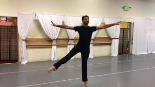 "Pacific Ballet Dance Theatre an ""In Studio"" performance featuring Grigori"