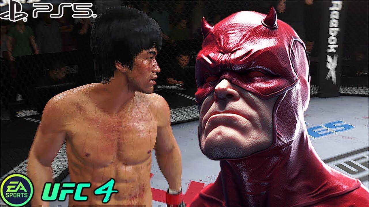 UFC 4 | Bruce Lee VS DareDevil |  PS5