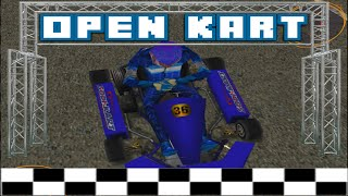 open KART RACING ARCADE mode pc game play
