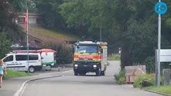 Sommerübung der Feuerwehr  Greifensee