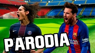 Canción Barcelona - PSG 6-1 (Parodia Enrique Iglesias -Subeme la radio) Video