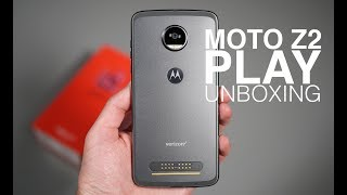 Moto Z2 Play Unboxing and Tour!