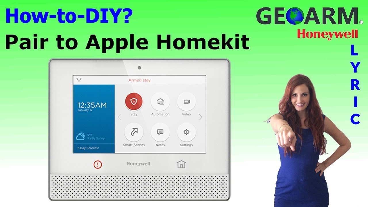 How to Connect Apple Homekit to Lyric Controller