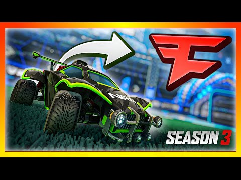 I joined the FaZe Rocket League team for a day... (Season 3 Placements)