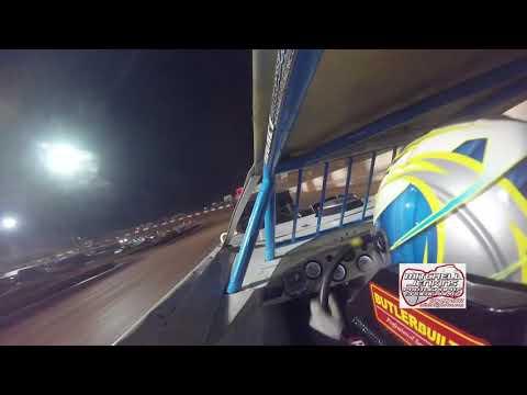 Tate McCollum Steelhead/525 In-Car Dixie Speedway 7/29/17!