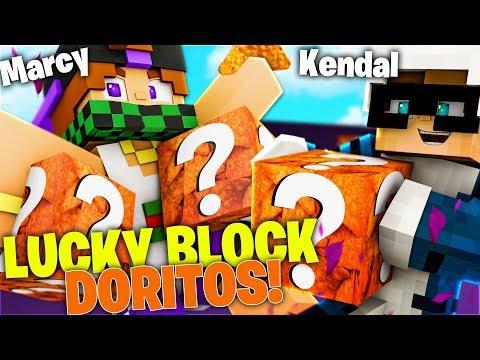 KENDAL VS MARCY | MEGA SFIDA CON I LUCKY BLOCK DORITOS su Minecraft ITA