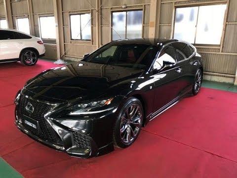 新型LS レクサス LS500 1650万円 TRDフルエアロ TRDスポーツマフラー BSM 平成30年式 登録済み未使用車 3500cc  LEXUS LS Fスポーツ カスタム例1台