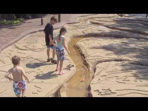 Fun at Mud Island