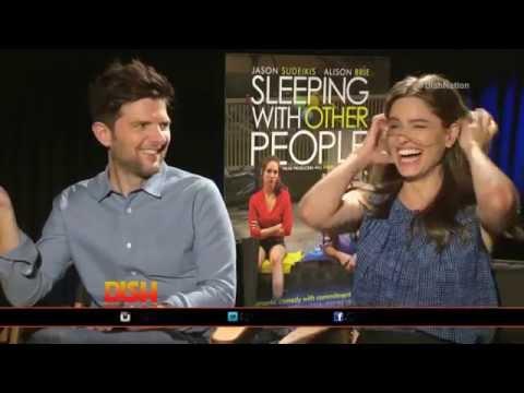 SLEEPING WITH OTHER PEOPLE Interviews: Jason Sudeikis, Adam Scott, Amanda Peet and more!