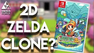 Ittle Dew 2 Switch Gameplay - 2D Zelda On Switch?!
