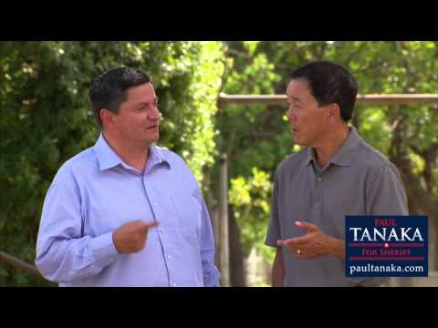Pat Gomez endorses Paul Tanaka for Sheriff
