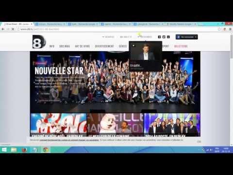 Tuto : Regarder la t.v Francaise depuis l'étranger  D8, Tf1, M6, France 2, Nrj12, Nt1...