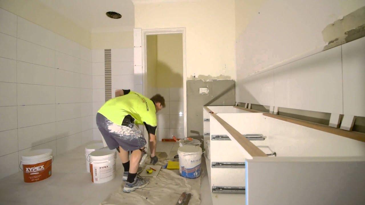 Bathroom Renovation Process Youtube