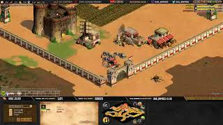 Age of empires II - GAME 3 - Njord21 vs WolfSilver- BATTLE POUR LE TITRE