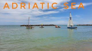 Adriatic Sea 🌊 Italy 《Porto San Giorgio》