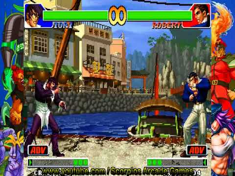 The King of Fighters 98 - Iori Combos Táticos by Scorpios
