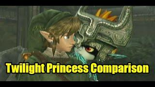 Twilight Princess HD VS Wii Graphics Comparison (Nintendo Wii VS Wii U)
