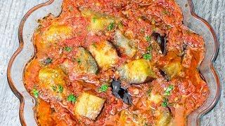 Закуска из баклажанов на скорую руку - вкусный и быстрый ужин для всей семьи! | Appetitno.TV