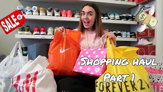 SHOPPING HAUL PART 1 : H&M, Nike, Forever 21...