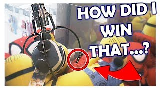The BEST CLAW MACHINE WINS EVER!!! || Insane Crane Game Wins