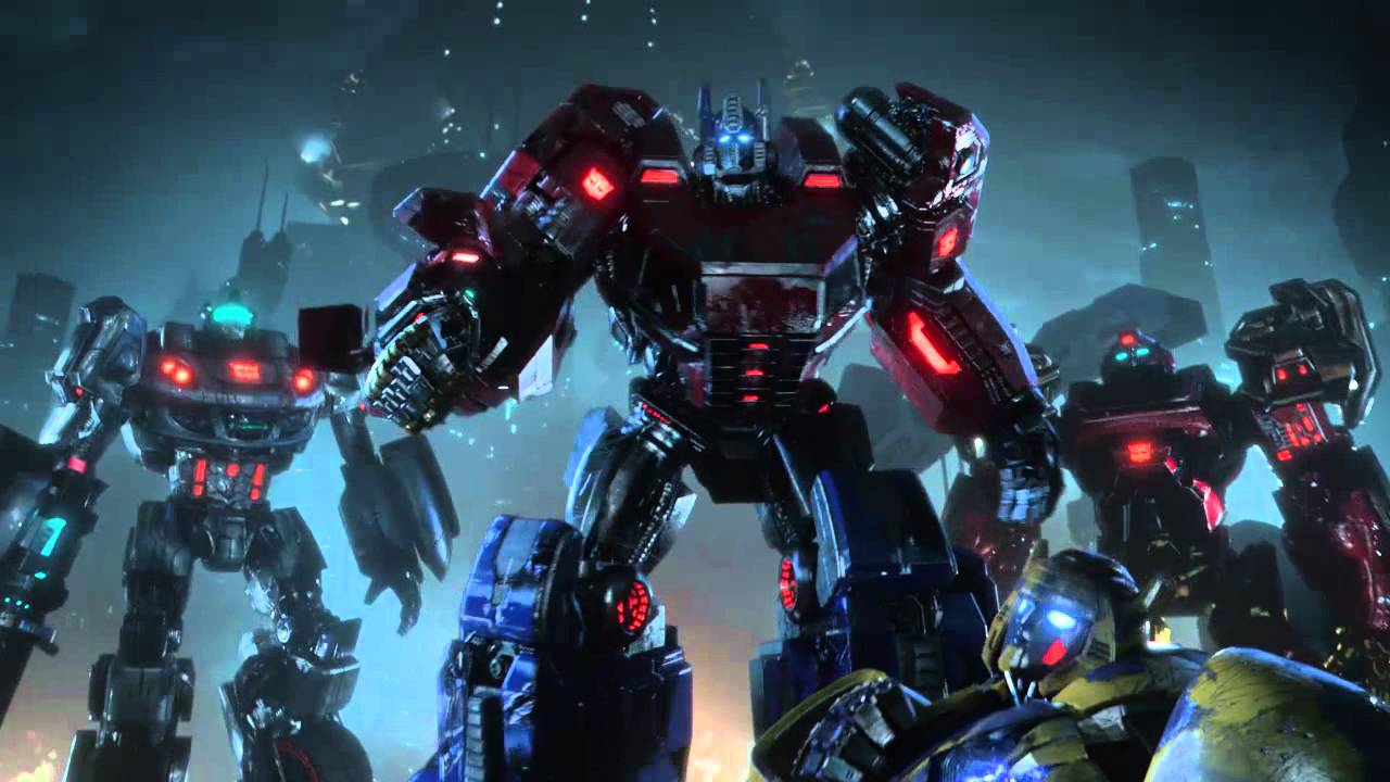 transformers fall of cybertron making of the cinematic trailer