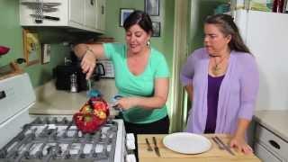 Veggie Orzo Stuffed Peppers