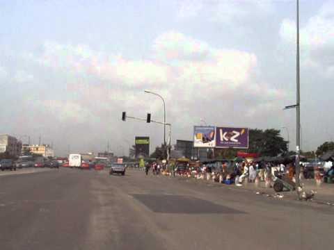 IVORY COAST - Abidjan street