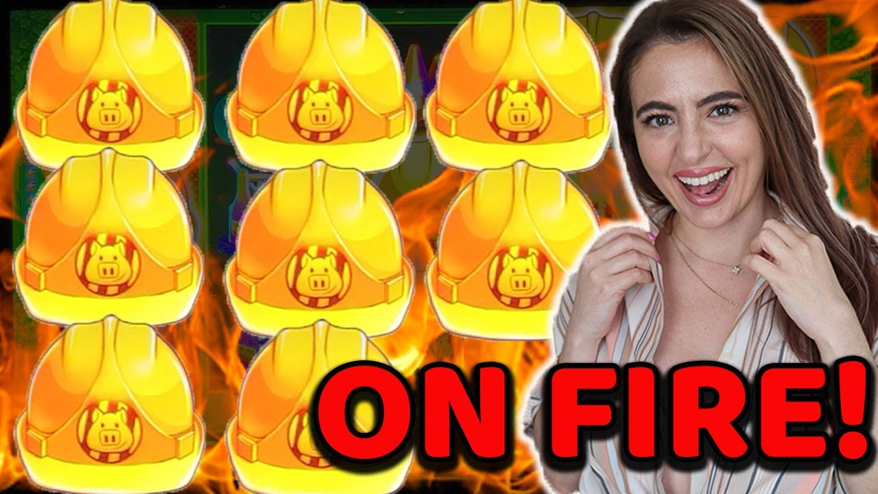 3 JACKPOT HANDPAYS IN VEGAS | HUFF N'PUFF is on FIRE!