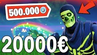 dieser FORTNITE ACCOUNT ist 500.000 V-BUCKS wert...