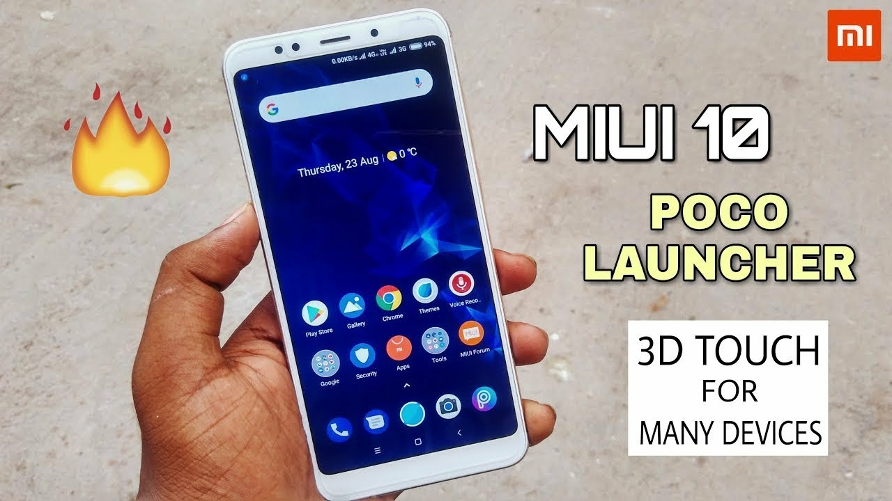 MIUI 10 Poco Launcher Apk For Many Devices || Download Now