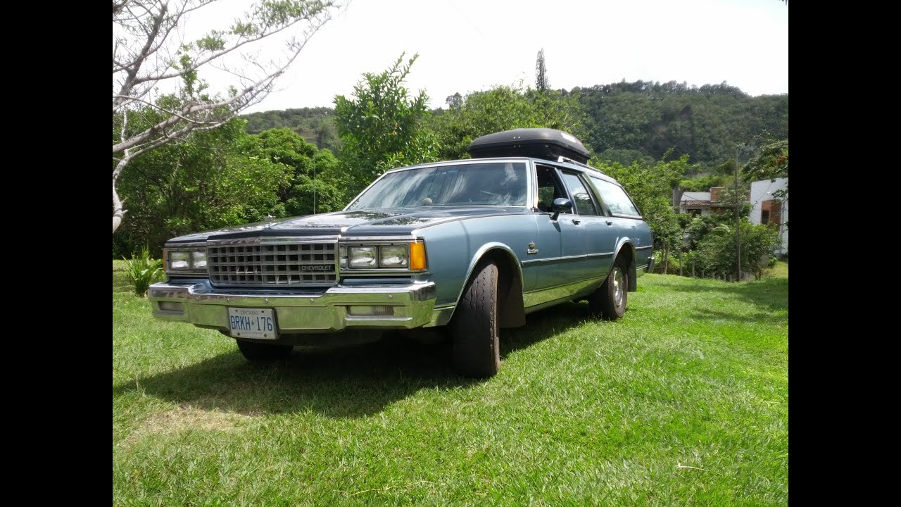 1985 Chevy Caprice Classic Station Wagon Review & Test Drive - YouTube