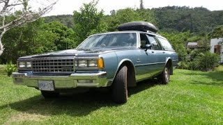 1985 Chevy Caprice Classic Station Wagon Review & Test Drive