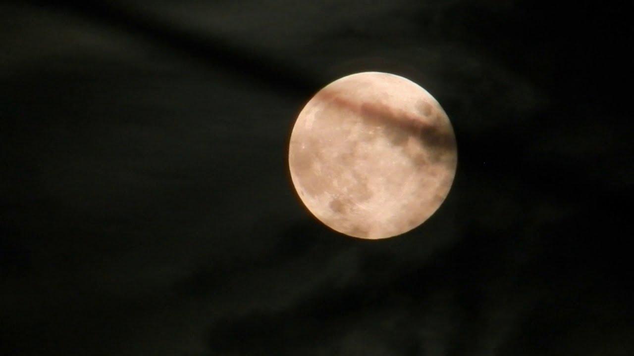 Луна ночью. Эмбиент. Релаксация