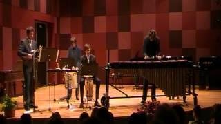 Matthias Schmitt: Ghanaia for Marimba and Percussions