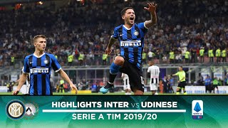 Inter 1-0 udinese | highlightshighlights from the match between and on matchday 03 of 2019/20 serie a tim season that finished with w...