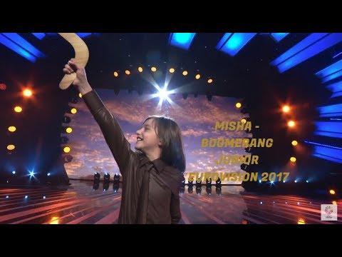 MISHA - BOOMERANG - LIVE - ARMENIA - JUNIOR EUROVISION 2017