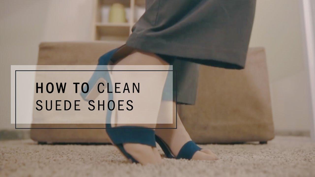 Cara Membersihkan Sepatu Suede Youtube