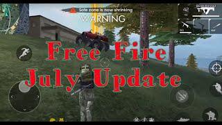 Free Fire - July Update