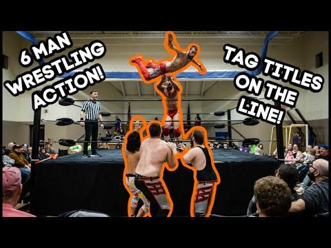TJC Vs Aj Smooth & JJ Garrett Vs Hadley Bros   RUGGEDpro Tag Championship Match