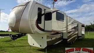 REDO Luxurious residential 5 Slide Destination 5TH Wheel 2014 Redwood 38FL15