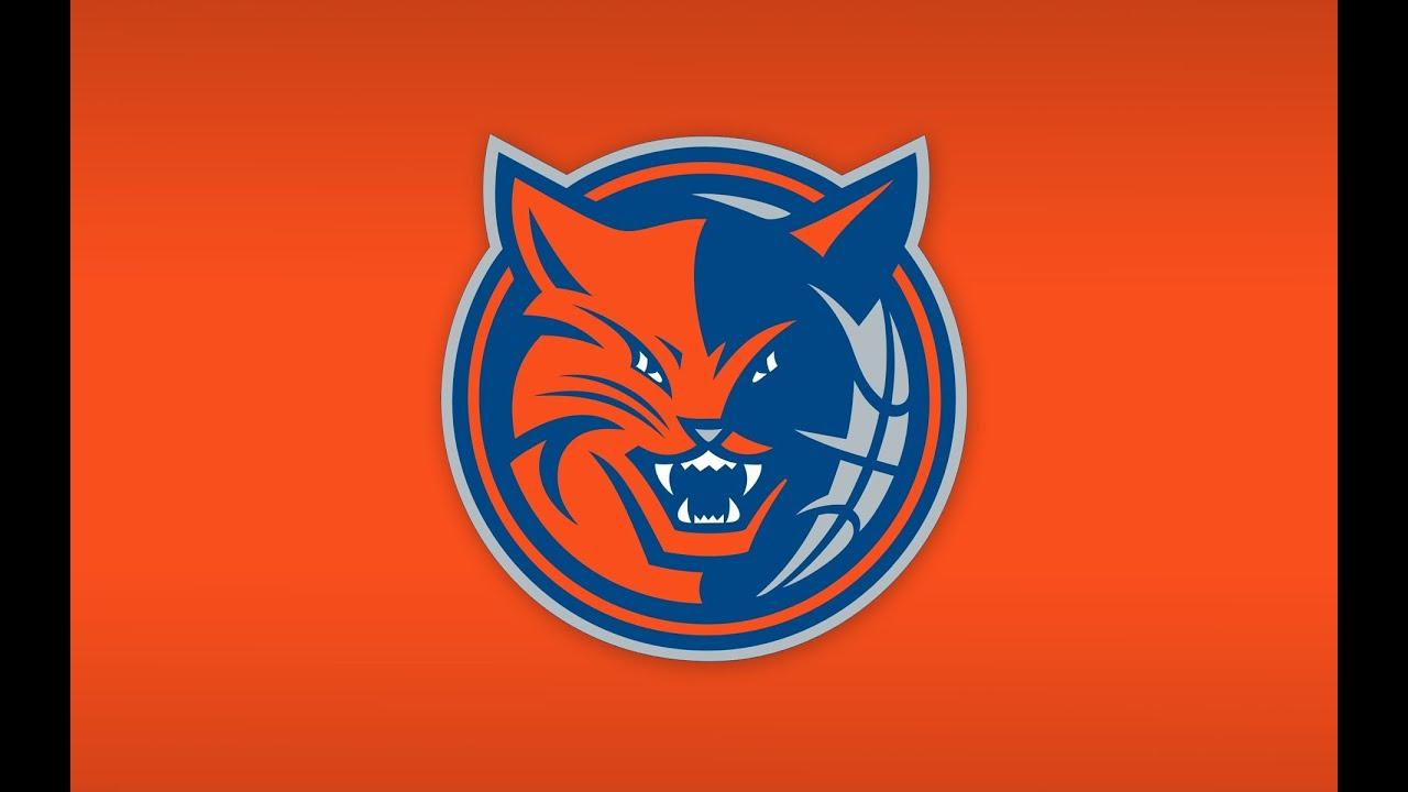Dibujando Charlotte Bobcats Logo Youtube