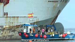 Reflotación del Carguero Celia 2/2- Maniobras finales.avi